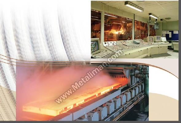 نورد گرم و فرآیند تولید ورق سیاه آهن آلات ایمان