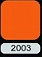 آهن ایمان ورق گالوانیزه رنگی طرح سفال پالرمو رال 2003 نارنجی